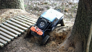 Traxxas trx4 на резине Team Ottsix Racing Voodoo KLR 1.9 Crawler Tires