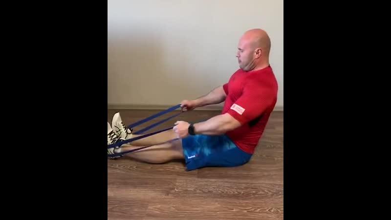 Тренировка с фитнес резинками. Онлайн тренировка с Citrus Fitness