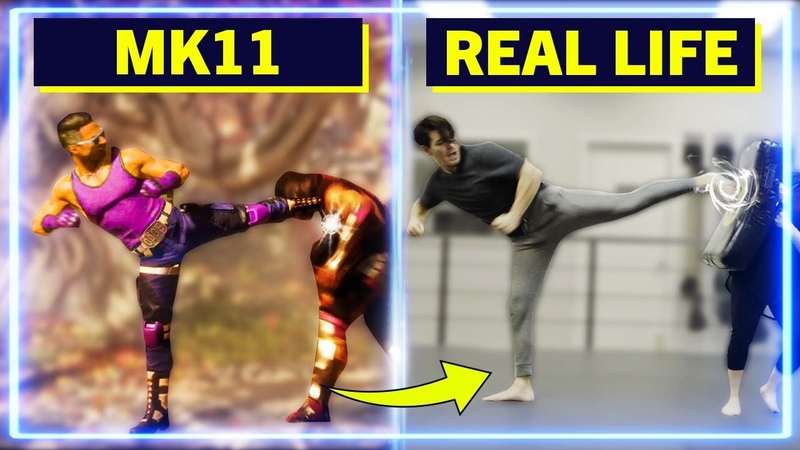 Expert Martial Artists RECREATE moves from Mortal Kombat 11 Experts Try