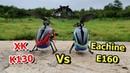 Eachine E160 Vs XK K130 Mini 3D Helicopter Comparison