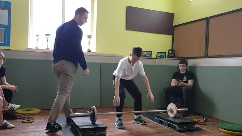 Сидорик Егор толчок 29 кг