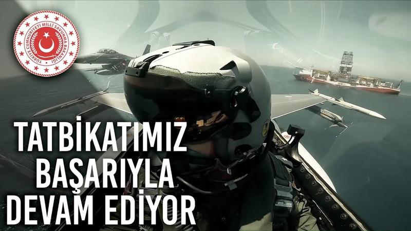 Şehit Yüzbaşı Cengiz Topel Akdeniz Fırtınası - 2020 Tatbikatı Başarıyla Devam Ediyor