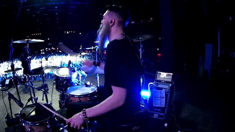 Нейромонах Феофан Сияние Live Drumcam СПб 2019 Тур Десять