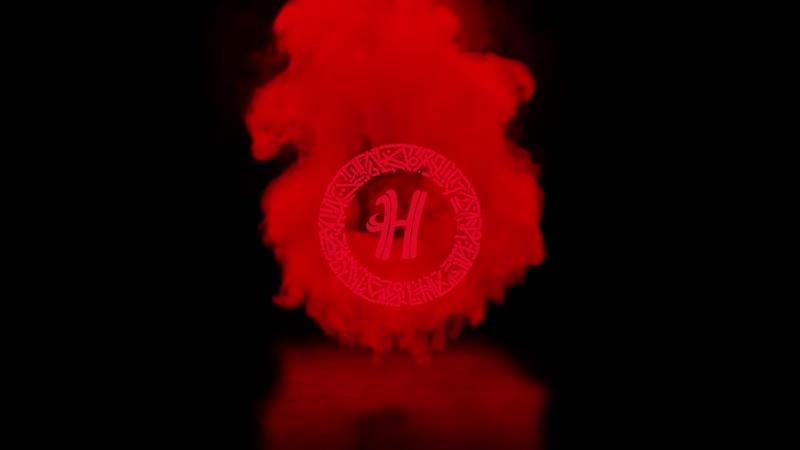 Интро для Instagrama Кальянной Никотин Анимированный логотип