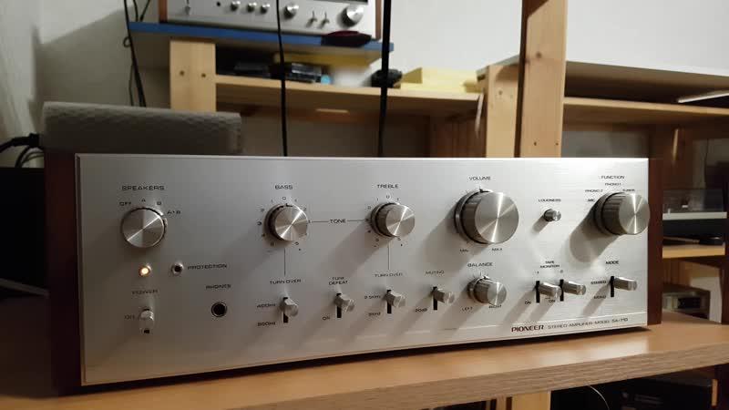 PIONEER SA 710 Test 1
