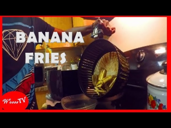 Banana Fries and Roast Breadfruit Wesss TV